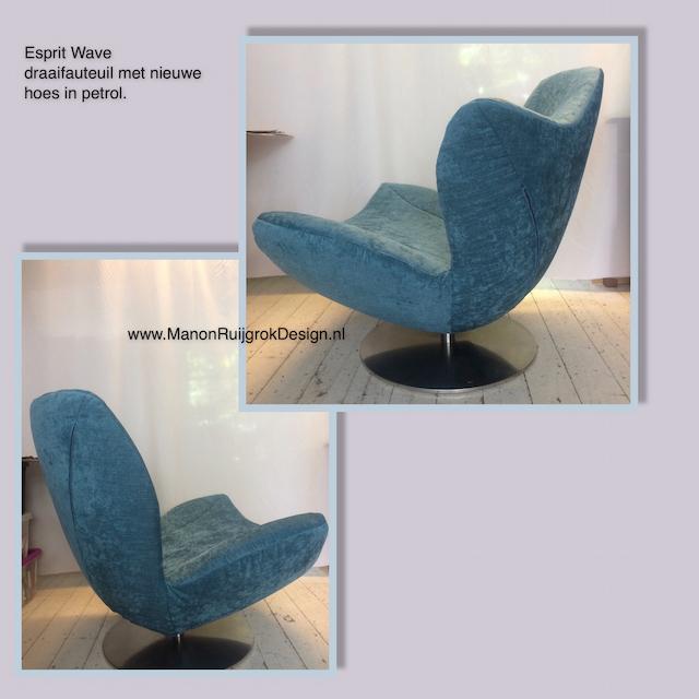 Esprit Wave stoelhoes meubelstoffering ManonRuijgrokDesign