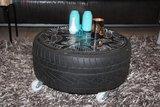 Salontafel van autoband_