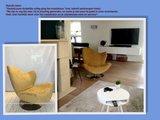 Esprit Wave fauteuil in warmgeel met werkje