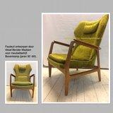 Design stoel weer als nieuw