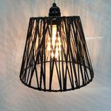 Lampenkapje Zwart Rubberlines RL2030